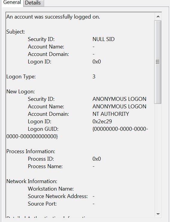 Monitoring for Windows Event Logs and the Untold Story of