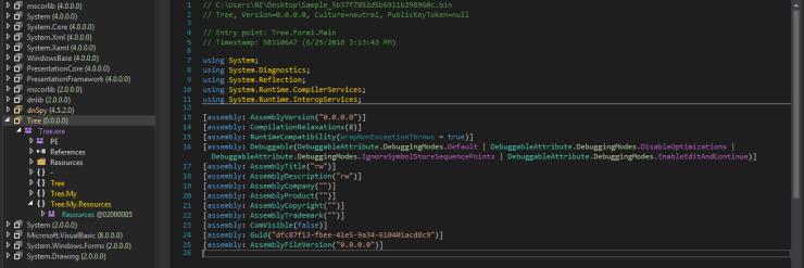 Post 0x13: Unfinished  NET Ransomware - Malware Analysis