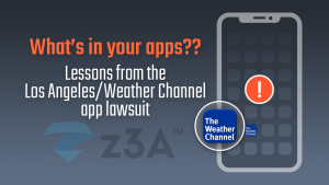 What's in your apps? Lessons from the Los Angeles / Weather