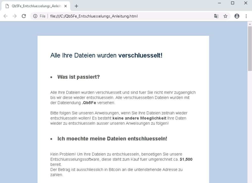 was ist ransomware
