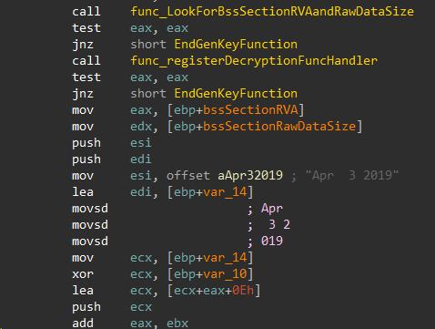 URSNIF: Interesting API harvesting, Anti-Memory-Forensic and